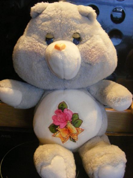 "VINTAGE 15"" GRAMS CAREBEAR 80S CARE BEARS"